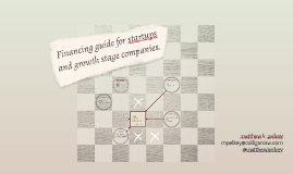 Financing guide for startups and growth stage companies.