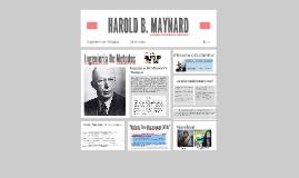 Copy of HAROLD B. MAYNARD