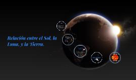 Copy of Relación entre el Sol, la Luna, y la Tierra.