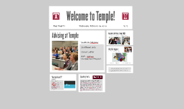 Welcome to Temple!