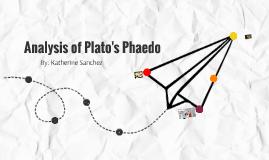 Plato's Phaedo Analysis