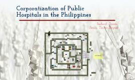 Copy of Corporatization of public hospitals