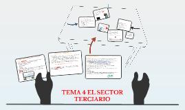 TEMA 4 EL SECTOR TERCIARIO