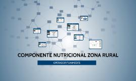 COMPONENTE NUTRICIONAL ZONA RURAL
