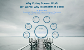 Why Voting Doesn't Work