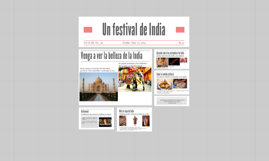 Un festival de India