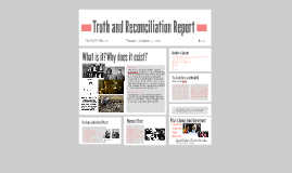 Truth and Reconciliation Report