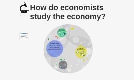 How do economists study the economy?