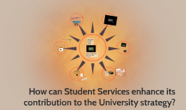 Student Services enhance its contribution to the University
