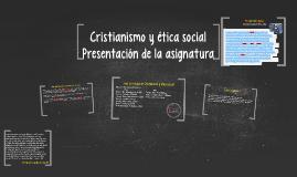 Cristian y etica PSICOLOGIA