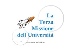 La terza missione dell'Università