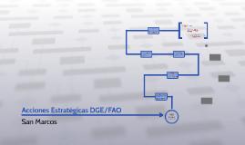 Acciones Estratégicas Dirección General de Empleo