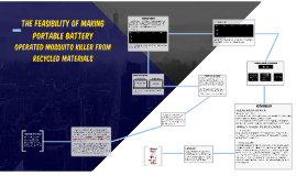 THE FEASIBILITY OF MAKING PORTABLE BATTERY