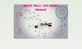 Copy of BALITE FALLS: THE HIDDEN PARADISE
