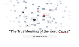 causa meaning