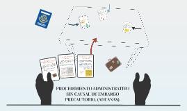 PROCEDIMIENTO ADMINISTRATIVO SIN CAUSAL DE EMBARGO PRECAUTOR