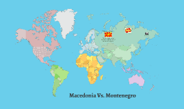Macedonia Vs. Montenegro
