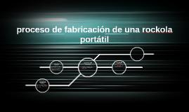 Copy of proceso de fabricacion de una rockola portatil