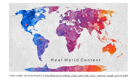 Reciprocal Teaching: Real World Context