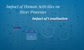 Impact of Human Activities on River Processes