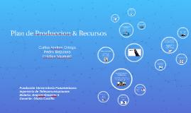 Plan de Produccion y Recursos