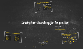 Copy of Sampling Audit dalam Pengujian Pengendalian