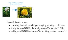 NNES Tutors: Background and Method