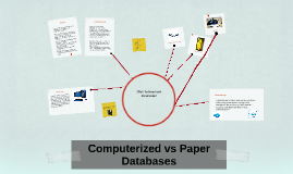 Computerized vs Paper
