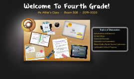 Welcome To Fourth Grade!