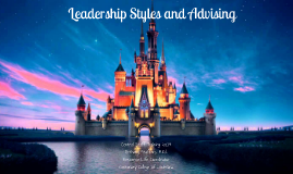 Leadership Theories, Styles, and Advising
