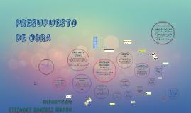 COSTOS Y PRESUPUESTOS DE OBRA