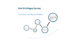 AP Statistics Survey Project
