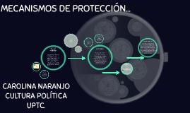 MECANISMOS DE PROTECCIÓN...