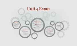 Unit 4 Exam