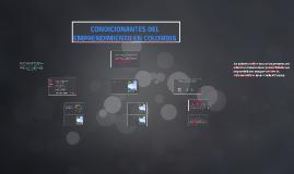 CONDICIONANTES DEL EMPRENDIMIENTO EN COLOMBIA