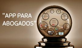 "Copy of ""APP PARA ABOGADOS"""