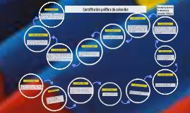 Copy of linea del tiempo constitución política de colombia