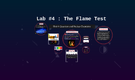 Lab#4: The Flame Test