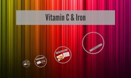 Vitamin C & Iron