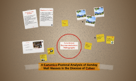 A Canonico-Pastoral Analysis of Sunday Mall MAsses in the Di