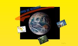 TIPOS DE REGIONES