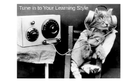 Tune Into Your Learning Style