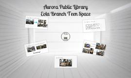 LIBR 261A: Teen Spaces