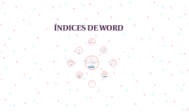 ÍNDICES DE WORD