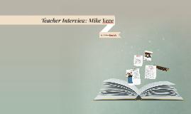 Teacher Interview: Mike Veve