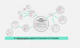 K Shanmugam's speech on terrorism in 3 minutes