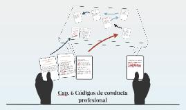 Copy of Cap. 6 Códigos de conducta profesional