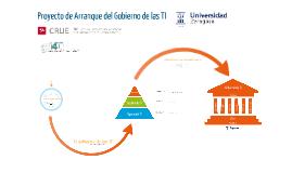 Proyecto de Arranque del Gobierno de las TI en la Universidad de Zaragoza