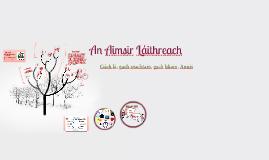 Copy of An Aimsir Láithreach