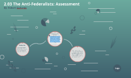 2.03 The Anti-Federalists: Assessment
